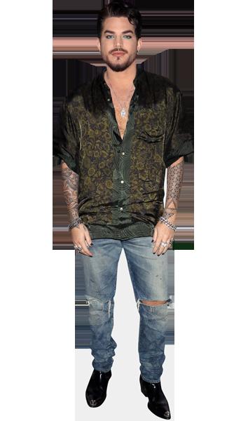 Adam Lambert Life Size Cutout