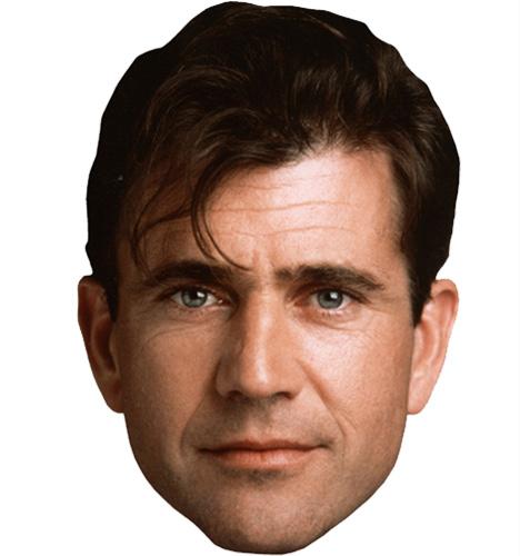 Mel Gibson Face