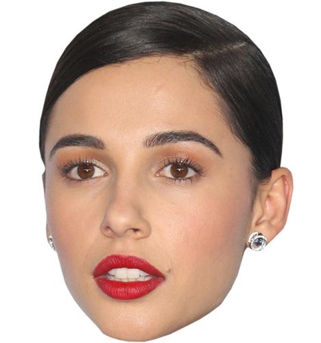 Naomi Scott VIP Celebrity Cardboard Cutout Face Mask