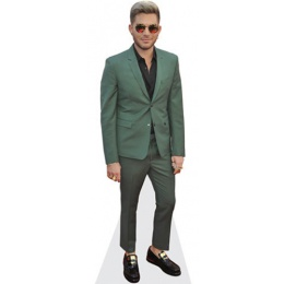 adam-lambert-green-suit-cardboard-cutout