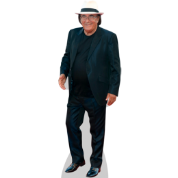 albano-carrisi-black-suit-cardboard-cutout