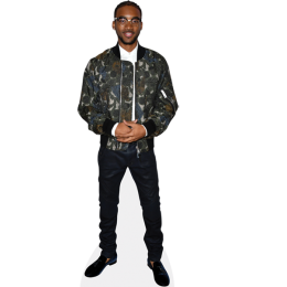 algee-smith-black-trousers-cardboard-cutout