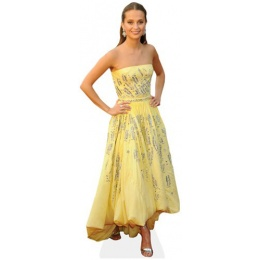 alicia-vikander-yellow-dress-cardboard-cutout