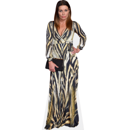 alison-king-long-dress-cardboard-cutout