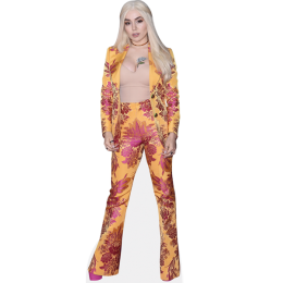 ava-max-yellow-dress-cardboard-cutout