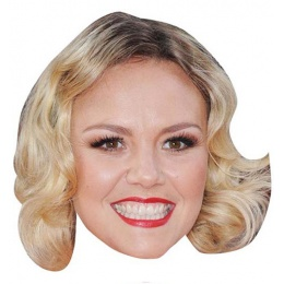 Charlie Brooks Face Mask