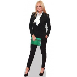 emma-bunton-green-bag-cardboard-cutout