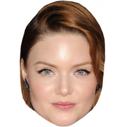 holliday-grainger-celebrity-mask