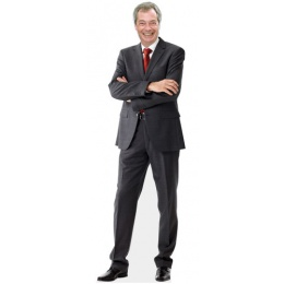 Nigel Farage Cutout