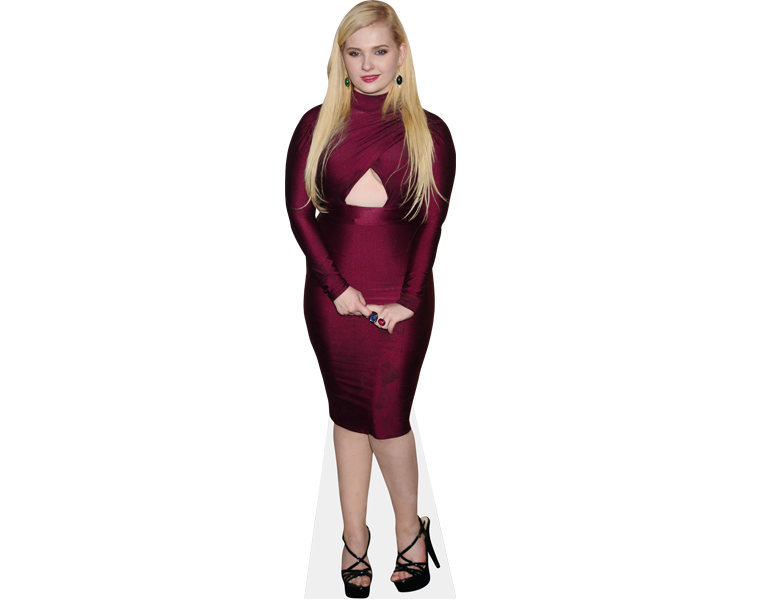 abigail-breslin-purple-dress-cardboard-cutout