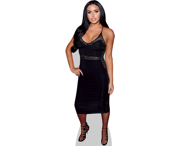 abigail-ratchford-black-dress-cardboard-cutout