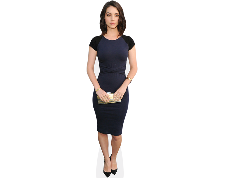 adelaide-kane-blue-dress-cardboard-cutout