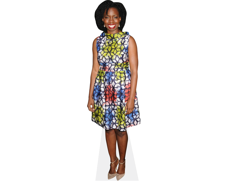 adepero-oduye-short-dress-cardboard-cutout