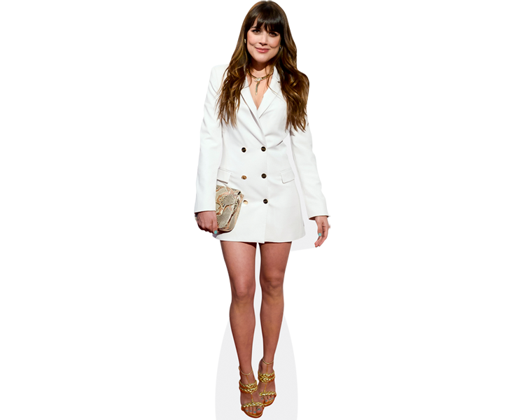 adriana-ugarte-white-dress-cardboard-cutout