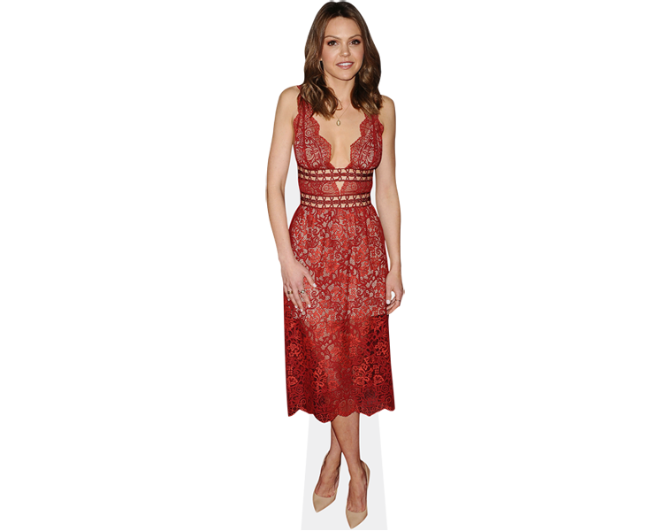 aimee-teegarden-red-dress-cardboard-cutout