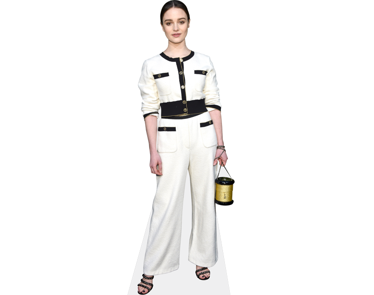 aisling-franciosi-white-outfit-cardboard-cutout