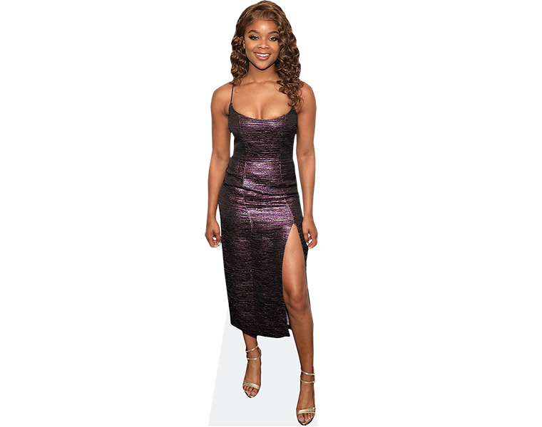 ajiona-alexus-purple-dress-cardboard-cutout