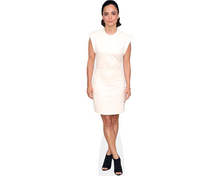 alice-braga-white-dress-cardboard-cutout