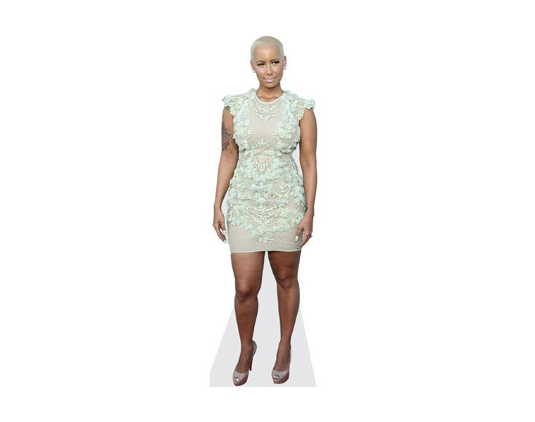 amber-rose-lace-dress-cardboard-cutout