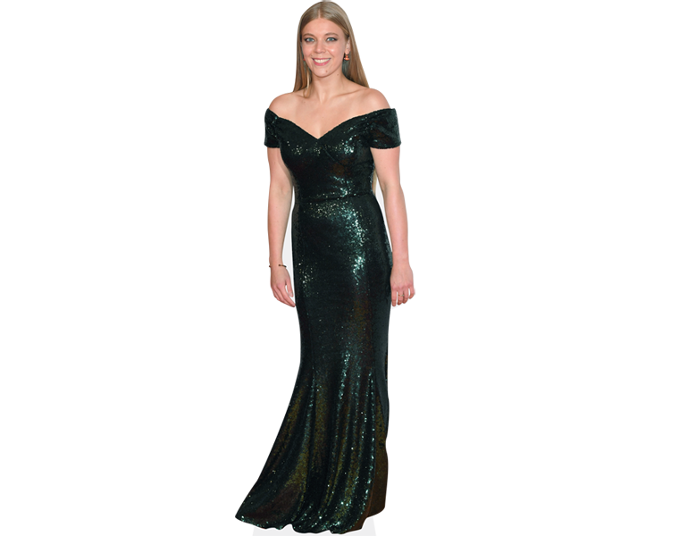 becky-hill-long-dress-cardboard-cutout