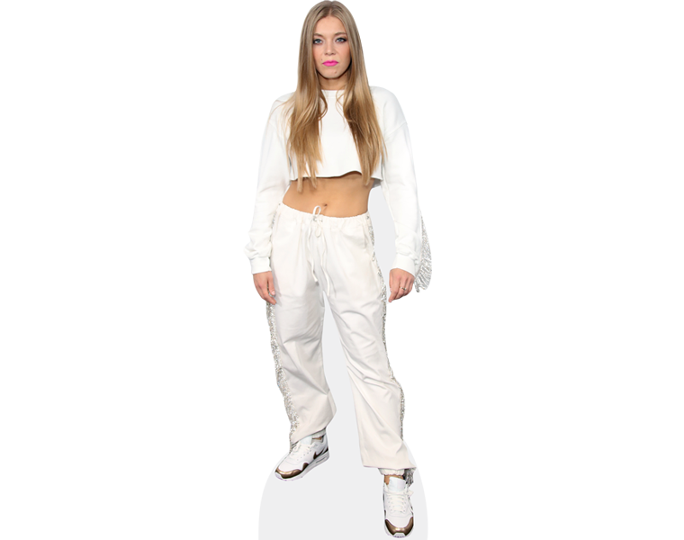 becky-hill-white-outfit-cardboard-cutout