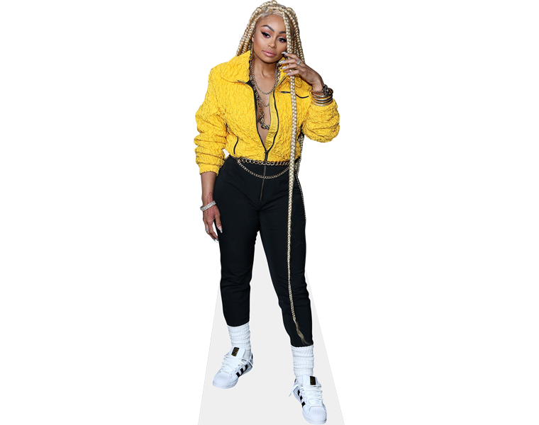 blac-chyna-yellow-jacket-cardboard-cutout