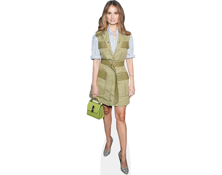 debby-ryan-green-dress-cardboard-cutout