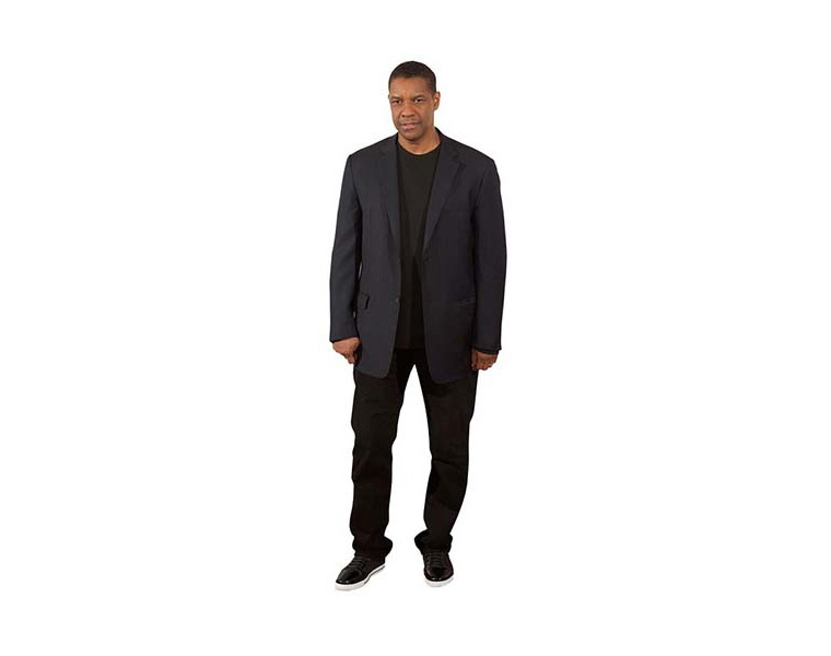 denzel washington cutout