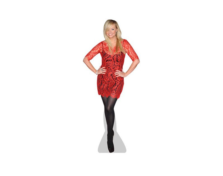 emma-bunton-red-dress-cardboard-cutout