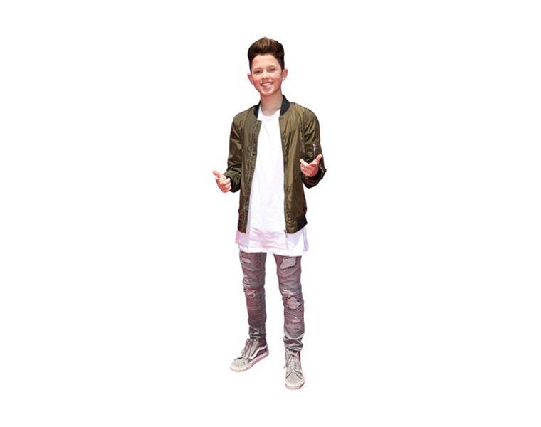 Jacob Sartorius Life Size Celebrity Vip Cardboard Cutout Standee