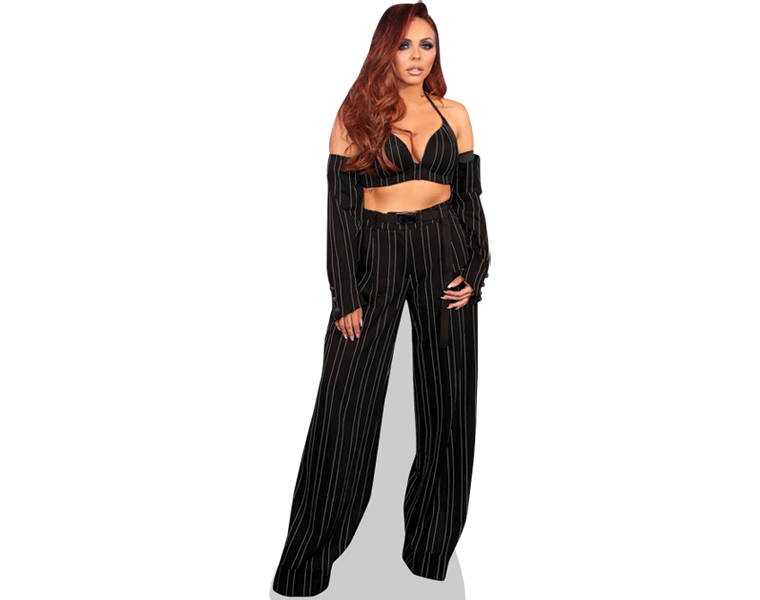 jesy-nelson-black-outfit-cardboard-cutout