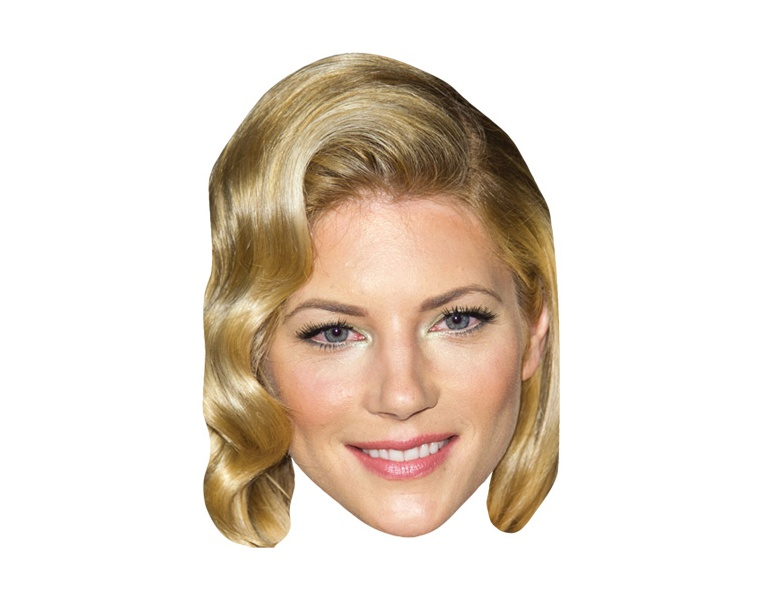 Katheryn Winnick VIP Celebrity Cardboard Cutout Face Mask